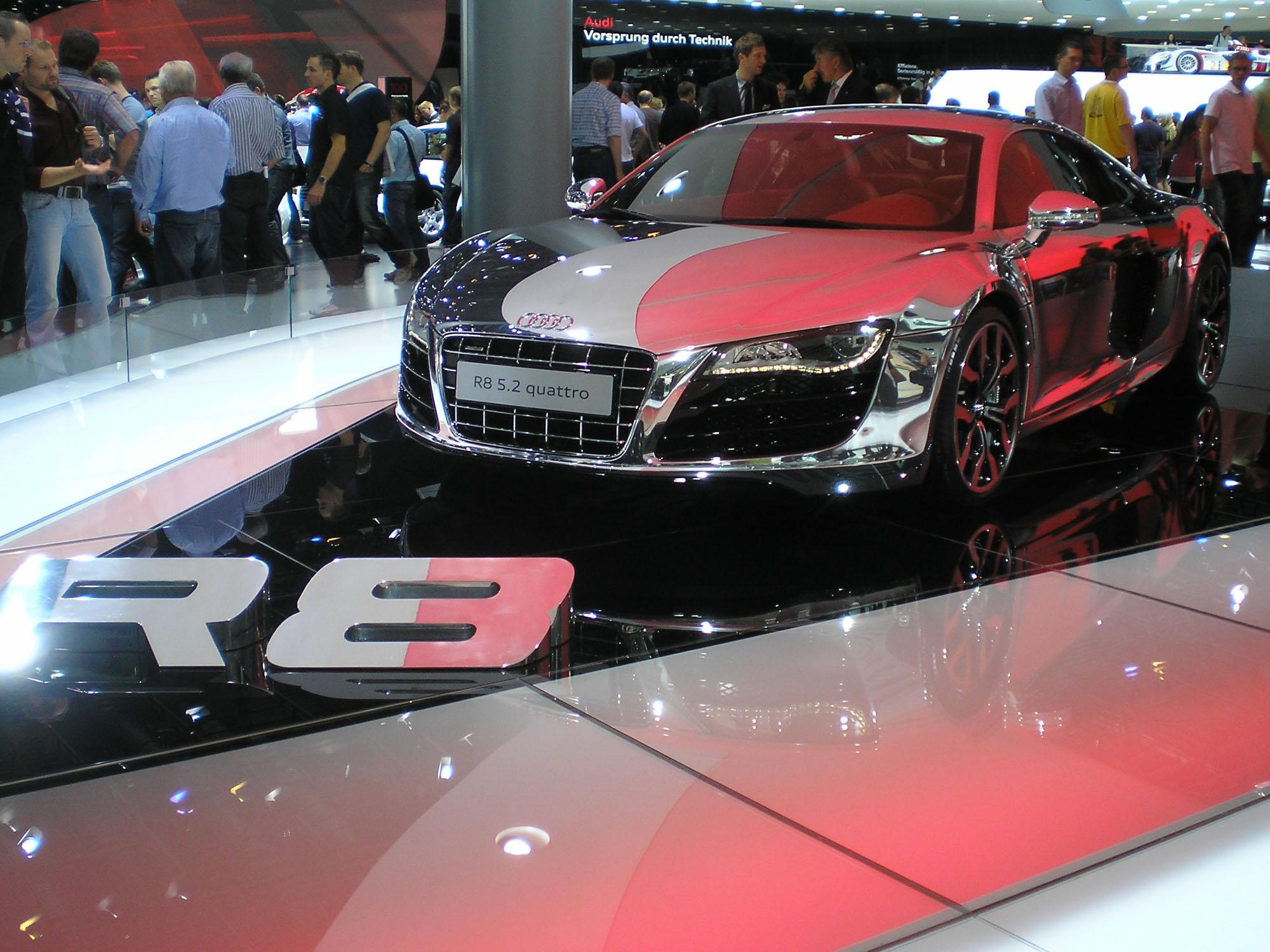 Holger Sprenger Audi R8 5.2 quattro
